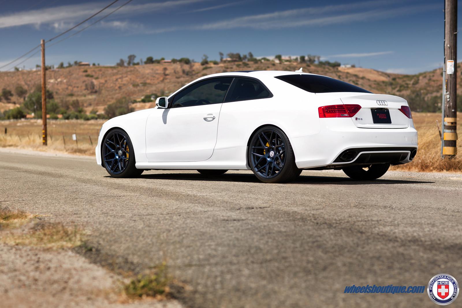 "Hankook Ventus V12 Evo2 >> ""Midnight"" Finish Premiere - Audi RS5 on HRE FF01 x Wheels ..."