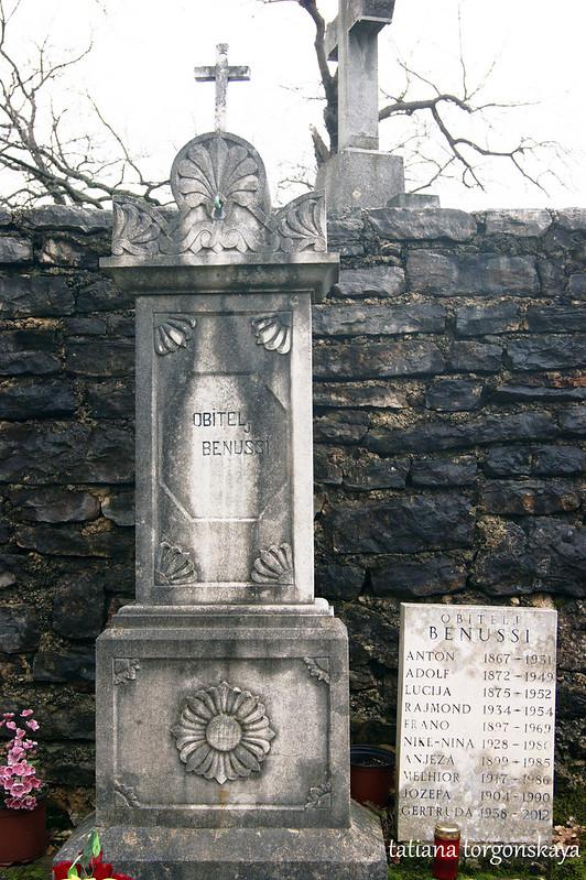 Могила семьи Бенусси