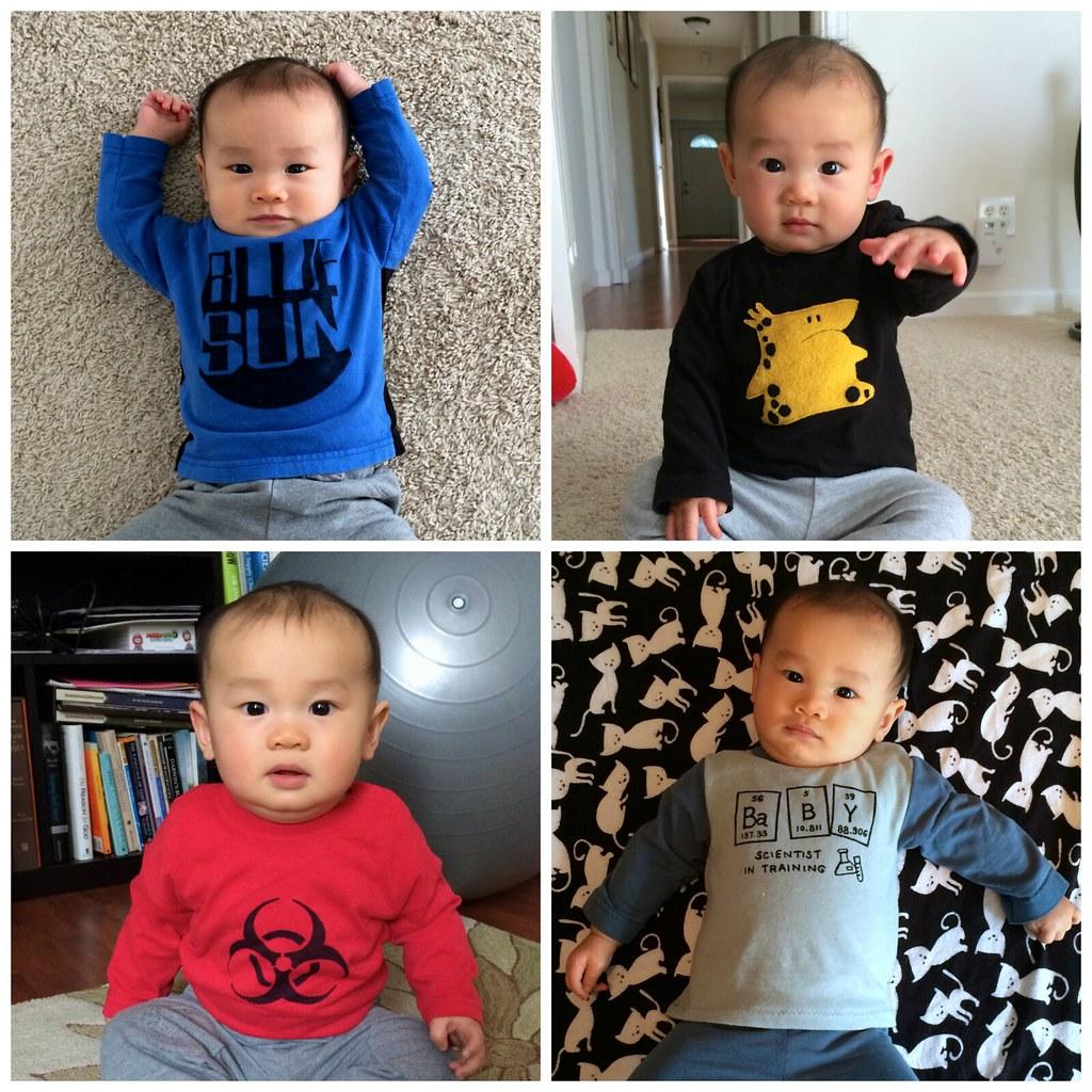 Geeky SHB shirts