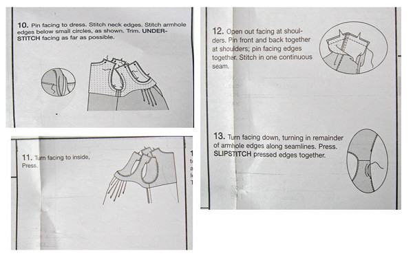 V1236 Instructions for facings