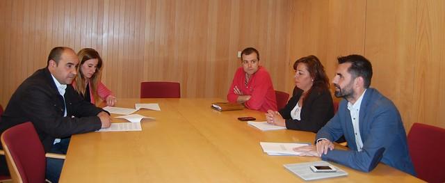 Reunión de la Asociación del Polígono de los VIllares con los representantes de Ciudadanos.