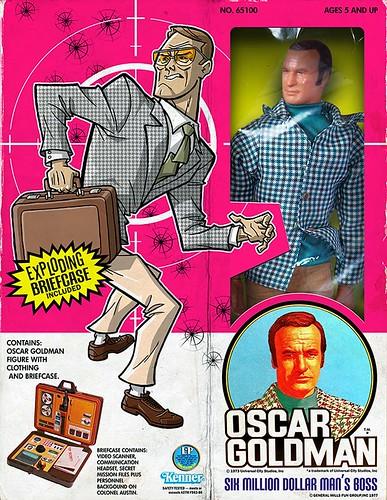 Minion Factory The Six Million Dollar Man - Oscar Goldman