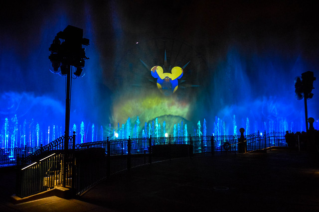 Yensid in World of Color Celebrate