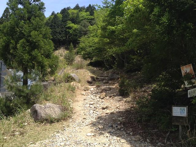 鎌ヶ岳 武平トンネル西登山口