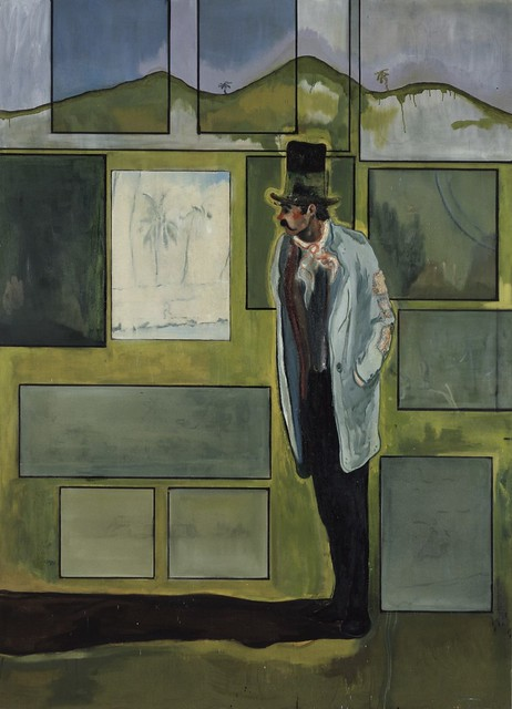 Peter Doig, Metropolitan (House of Pictures), 2004, Oil on canvas