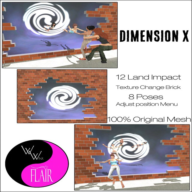 W. Winx & Flair - Dimension X Ad