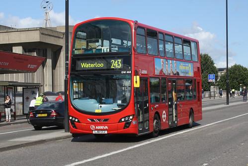 Arriva London North DW468 LJ61CCZ