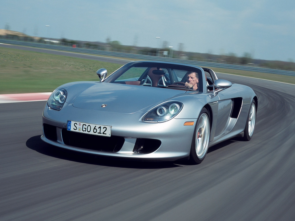 Porsche Carrera GT для рынка США (кузов 980). 2003 – 2006 годы