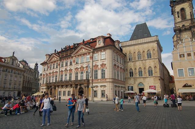 布拉格 街景