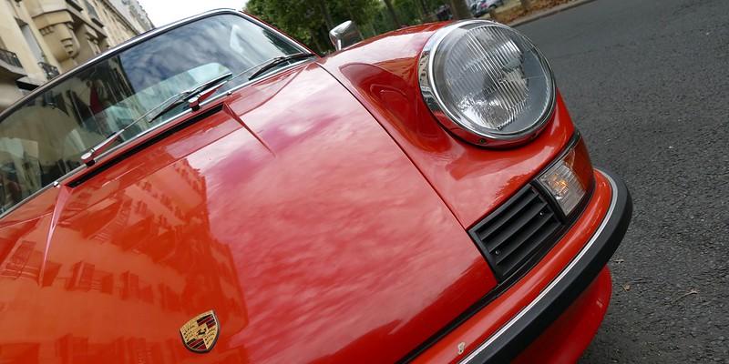 Porsche 911T 2.4 litres - Traversée de Paris Dim 31 Juillet  28613792492_b724b2553c_c