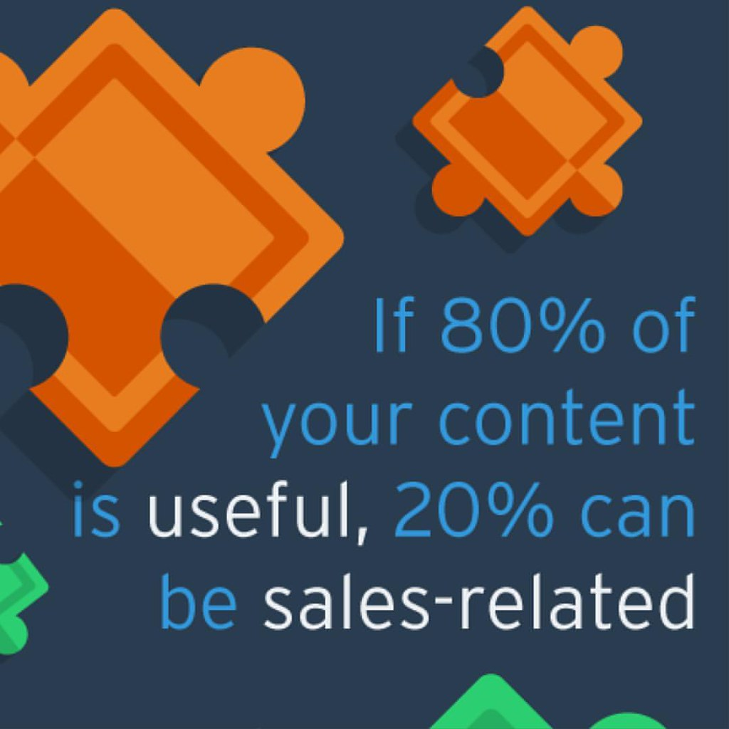 Read The 80/20 rule is a universal guide for most content marketing efforts. Read