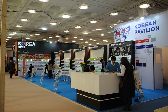 Korean Pavilion - London Book Fair 2015