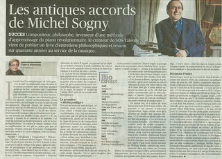 MICHEL SOGNY PORTRAIT LE FIGARO 2 MAI 2014 | by msogny