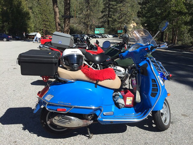 Scooter Interloper in SoCal. Feb 18-25, 2015.