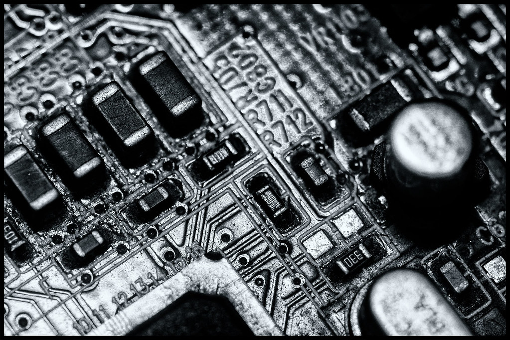 365-143 Circuit Board by Darren Wilkin