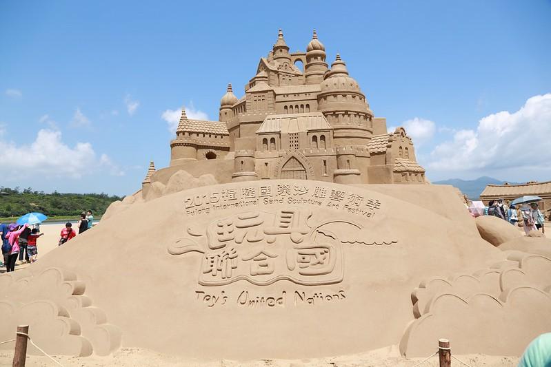 沙雕展主城堡