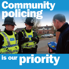 community policing glamis