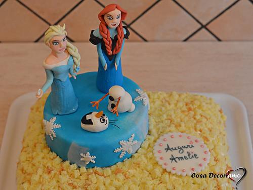 Torte - 100 - Torta Frozen