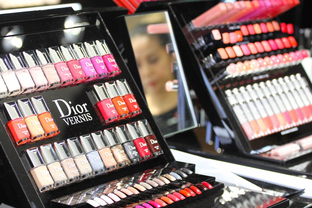 Dior MV nail colours