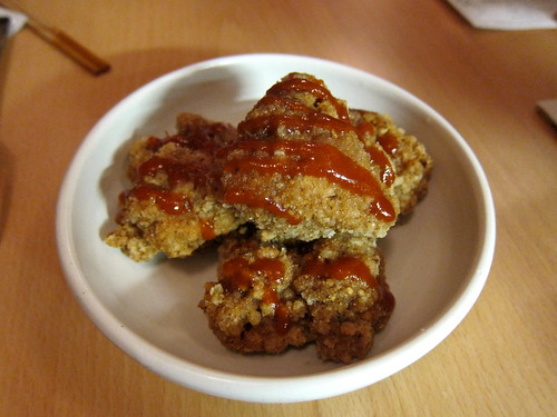 Taiwanese Fried Chicken, Hot Sauce