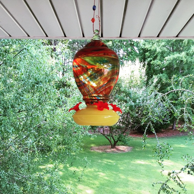 Our hummingbird neighbors better get excited.