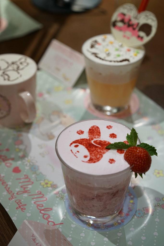 Kiki & Lala ❤ My Melody 40th anniversary cafe_10