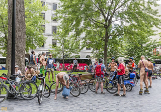 world naked bike ride montreal 24 | by Eva Blue