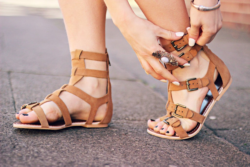 Ravel suede gladiator sandals the little magpie 9