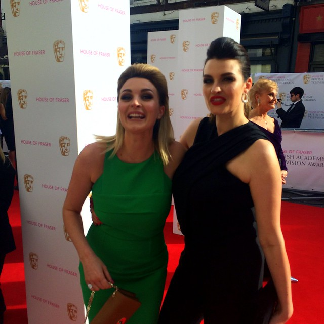 BAFTA Red Carpet 2015 (2)
