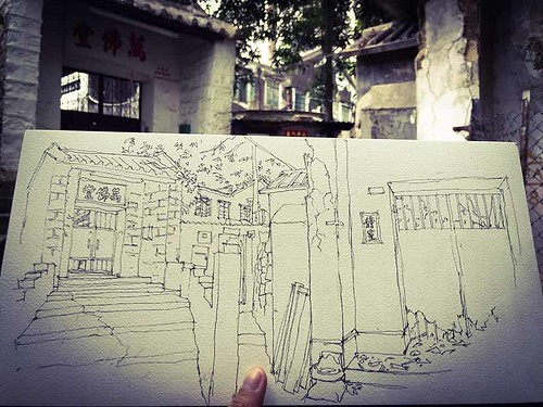 Forgotten Taoist Monastery in the Heart of the City
