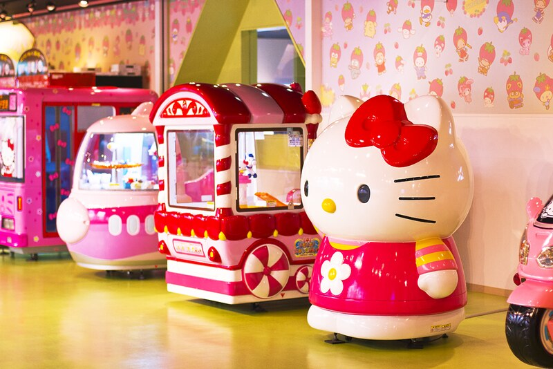 sanrio hello kitty monkichi my melody japan sanrio puroland amusement theme park blog pink kawaii trip destination visit merchandise sanrioland hellokittyland hello kitty world