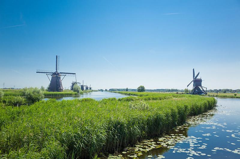 2016.夏.荷蘭.鹿特丹.小孩堤防