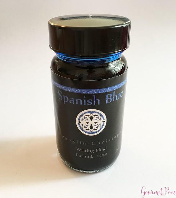 Ink Shot Review Franklin-Christoph Spanish Blue @1901FC 1