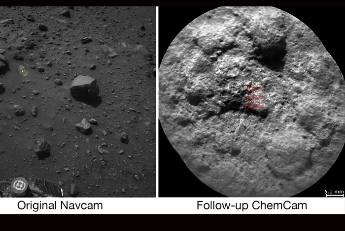 Mars rover's laser can now target rocks all by itself