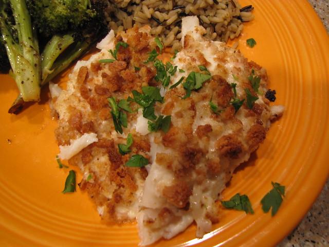 Gluten Free Panko & Lime Baked Fish