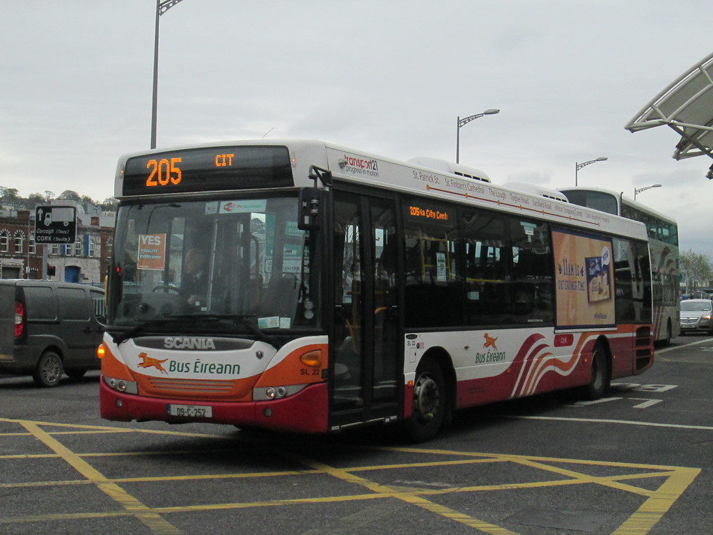 bus eireann, cork, scania, sl22 09c252 on route 205 from k… | flickr