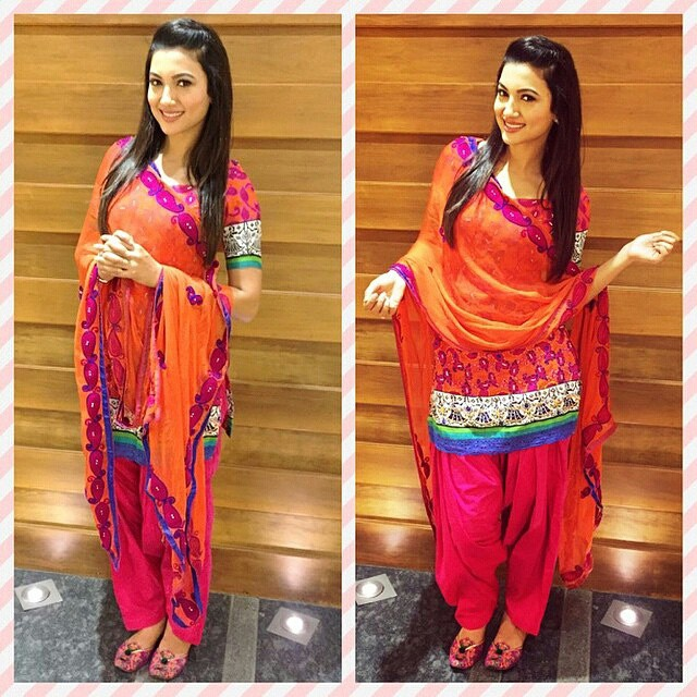 Gauahar Khan For The Promotions For Her Upcoming Punjabi M Flickr