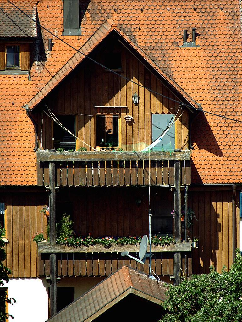 Balkonien Holz Balkon Mit Hangematte Sx60 Raw Sample Flickr