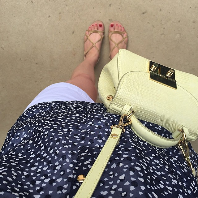 💙 Tiny #hearts for a morning stroll at #AlverthorpePark. 🚶#thelimited #heartprint #jcrew #shorts #zara #sandals #crossbodybag #outfit #lookbook #whatiwore #wiwt #realoutfitgram #fromwhereistand #fwis #fashionlover #loveit #familytime