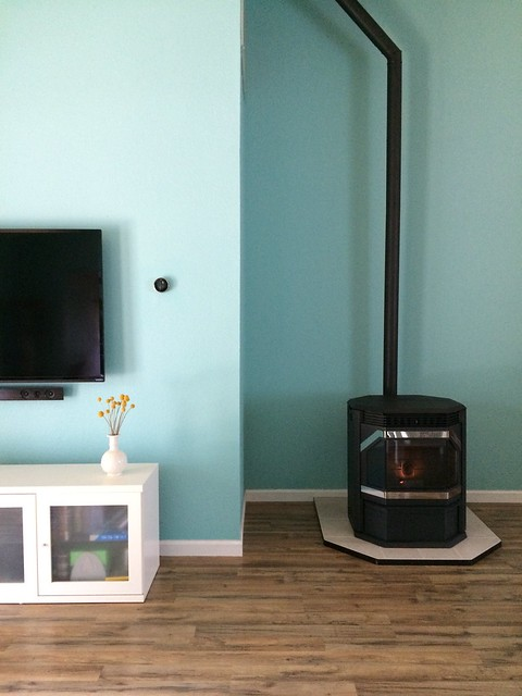 The New Pellet Stove