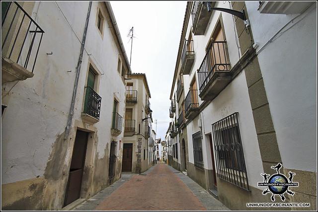 Calles de Coria, Cáceres, Extremadura. España. Spain.