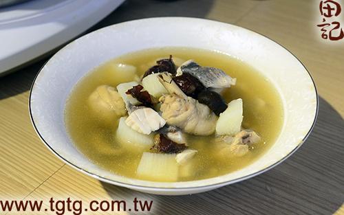 田記鮮雞精-山藥鱸魚雞湯-成品1