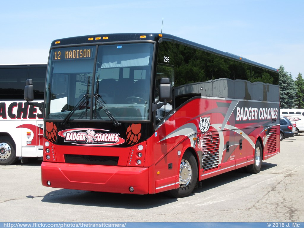 badger coaches 296 | operated by: badger bus lines, madison,… | flickr