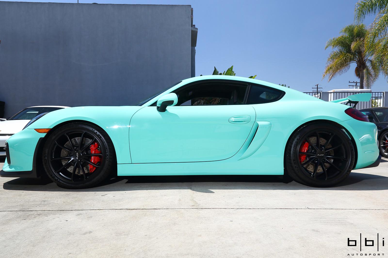 Porsche Gt4 Rs >> FlyingLRacing's PTS Mint Green Porsche Cayman GT4 ...