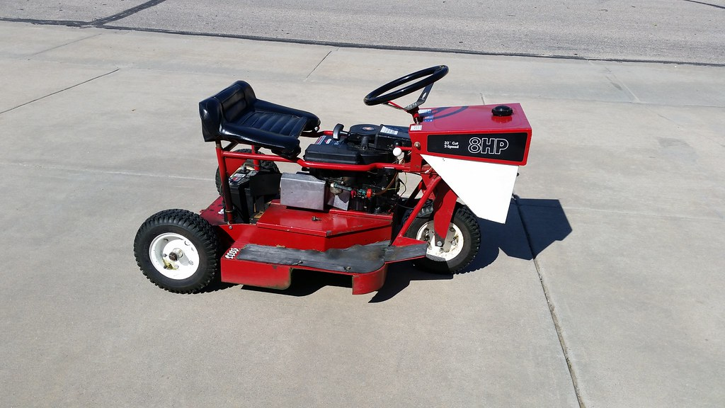 Ride On Mower >> 1965 swisher ride king (alais big mow) | Apparently ...