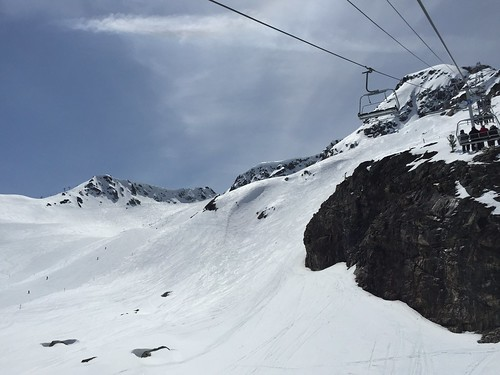 Skiing in Whistler (May 9, 2015)
