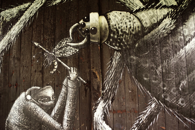 Spider, by Phlegm
