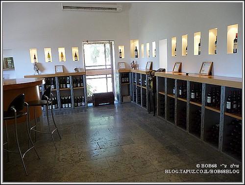מרכז המבקרים ב- יקב צרעה