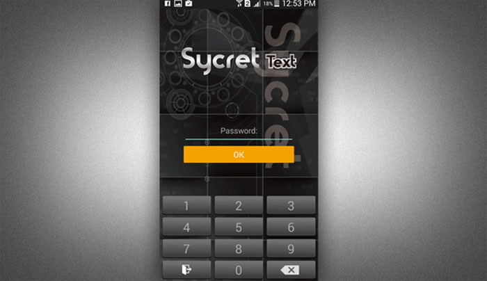 How to Install Sycret Text App