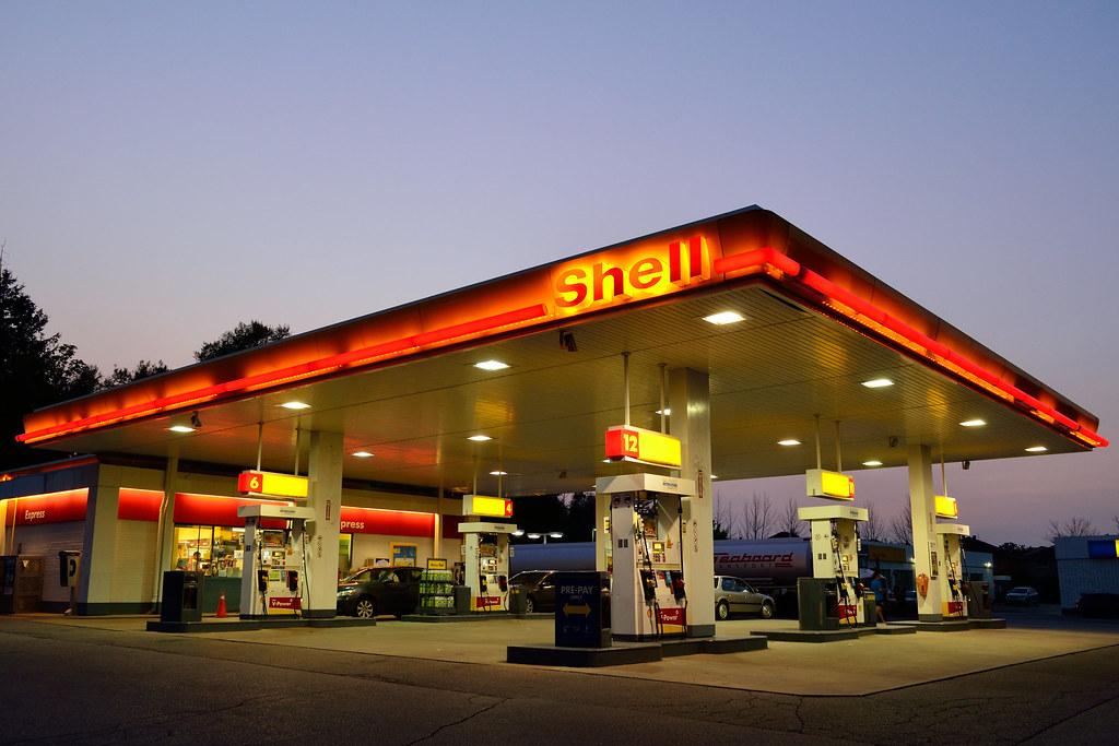 Image result for Shell gasoline station image